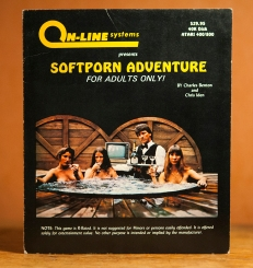 Softporn Adventures by On-Line Systems on Atari 400